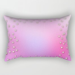 Lost in glam space Rectangular Pillow