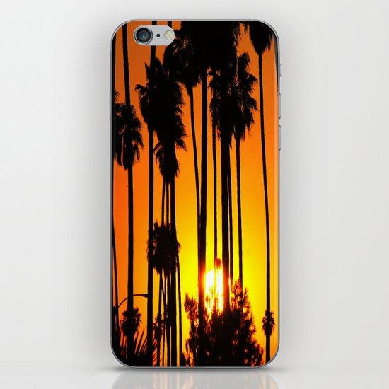 Striped Sunset iPhone & iPod Skin