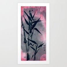 Coming Up Roses Art Print