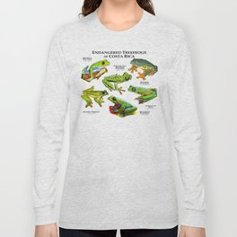 Endangered Treefrogs of Costa Rica Long Sleeve T-shirt