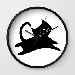 Texta Geo with Cat Wall Clock