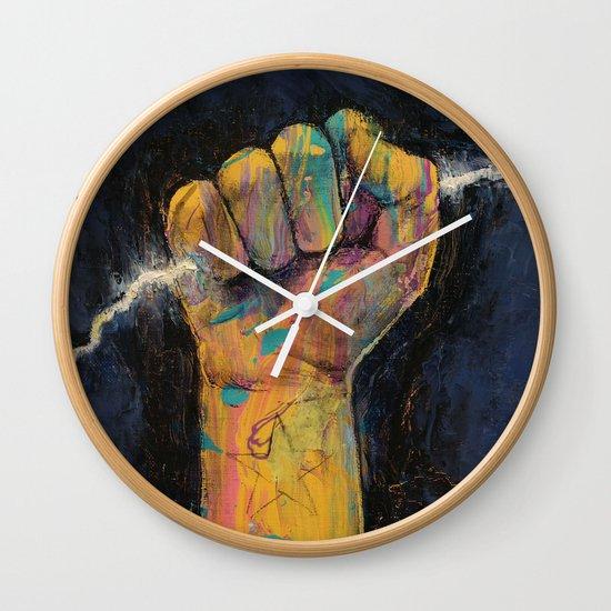 Lightning Wall Clock