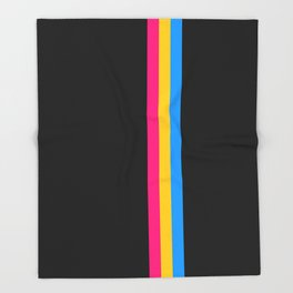 Pansexuality in Shapes Throw Blanket