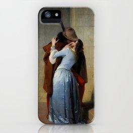 The Kiss (Il Bacio) - Francesco Hayez 1859 iPhone Case
