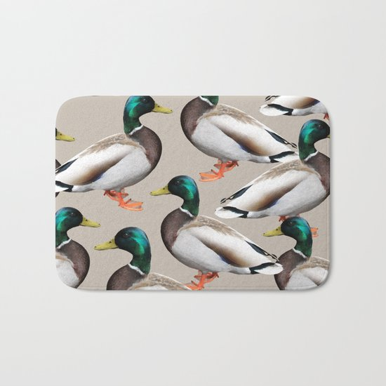 Mallards #society6 #decor #buyart Bath Mat