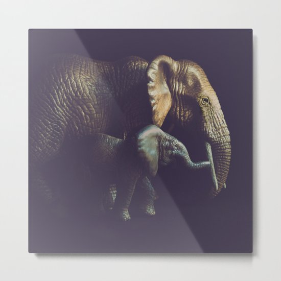 Old and Young Metal Print