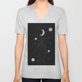 Complex - Moon Phase Illustration Unisex V-Neck