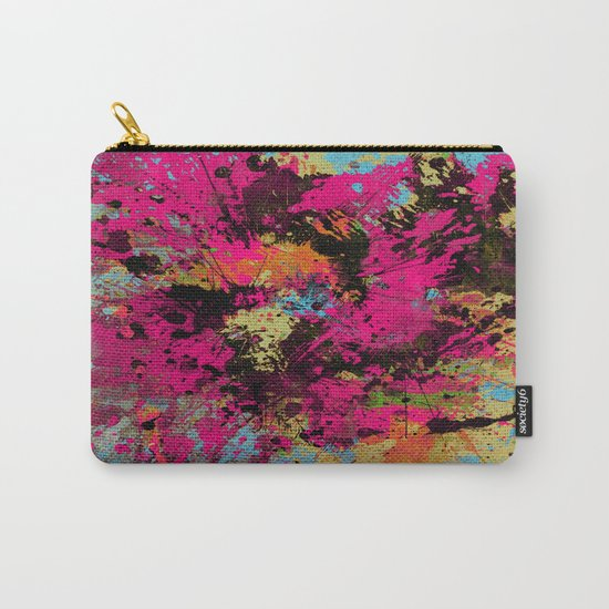 Express Yourself IV - Abstract, oil painting Carry-All Pouch