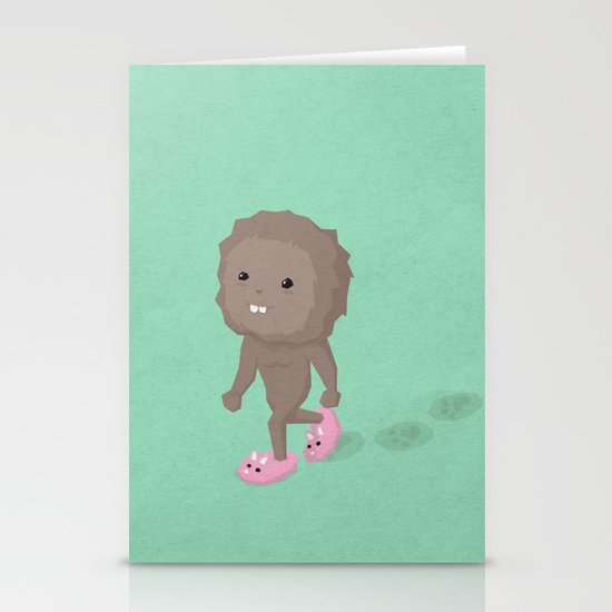 Accidental Legends: Bigfoot Stationery Cards