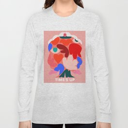 TIME'S UP by Amber Vittoria Long Sleeve T-shirt