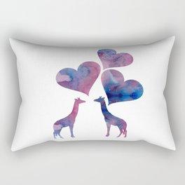 Giraffe Art Rectangular Pillow