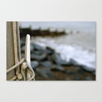hook Canvas Prints featuring hook by double U double O