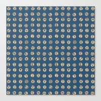 astrology Canvas Prints featuring Astrology 2 by lxcart