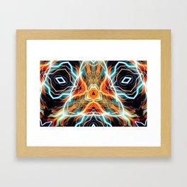 Electrofeathers Framed Art Print