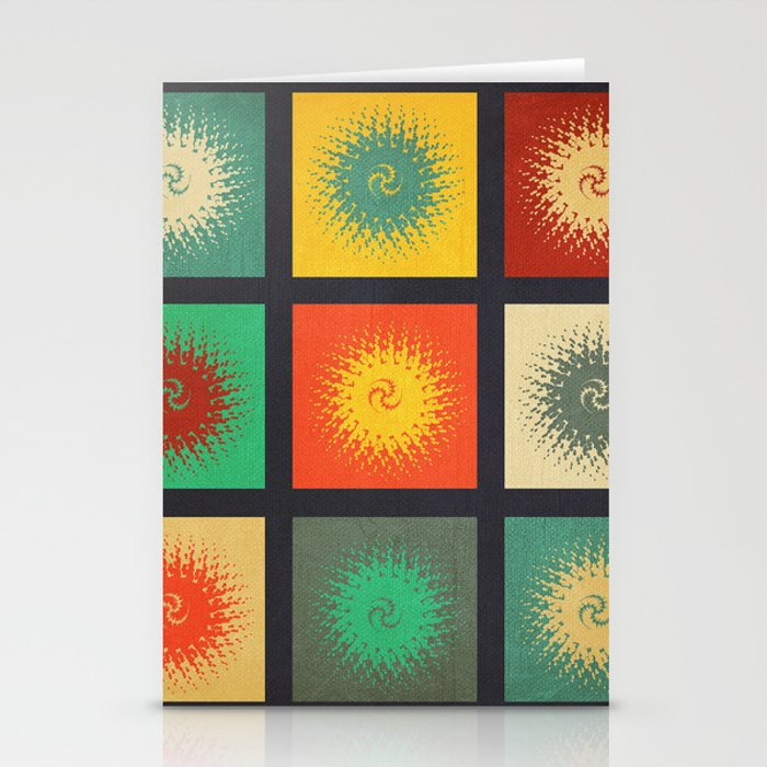 Textures/Abstract 90 Stationery Cards