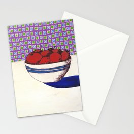 Fruit with Wallpaper Stationery Cards