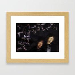 In the Silence Framed Art Print