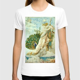 "Gustave Moreau ""The Peacock Complaining to Juno"" T-shirt"