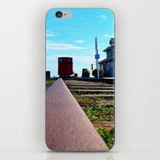 Down the Track and into the Station iPhone & iPod Skin