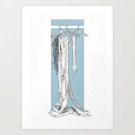 Worn Out Art Print