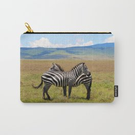 Striking Stripes  Carry-All Pouch