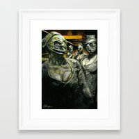 silent hill Framed Art Prints featuring Silent Hill by Sprite Ideas
