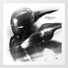 Mark 7 Stealth Art Print