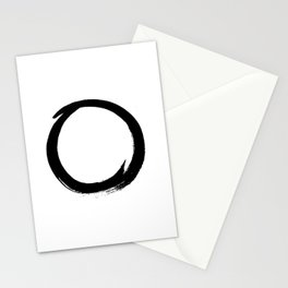 Enso circle Stationery Cards