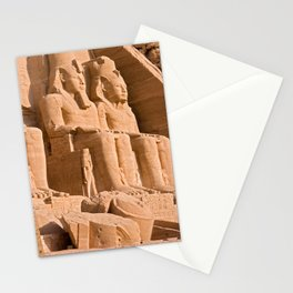 Great Temple of Abu Simbel Stationery Cards