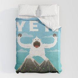 Yeti Duvet Cover