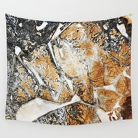 doberman Wall Tapestries featuring Сoffee by Кaterina Кalinich