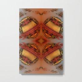 Florid Circles Metal Print