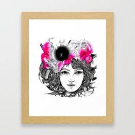 HASHTAGME - ink illustration by Ninette Framed Art Print