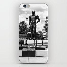 George Rogers Statue iPhone Skin