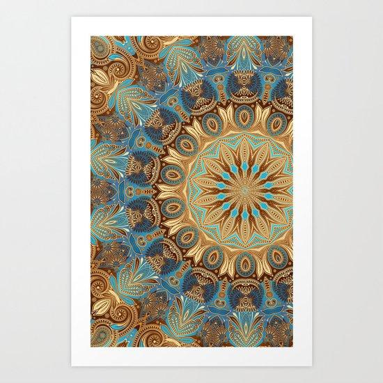 Havana Mandala Art Print