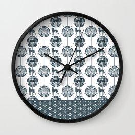 ART DECO BLU WEIM Wall Clock