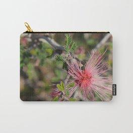 Desert Wildflower Bush Carry-All Pouch