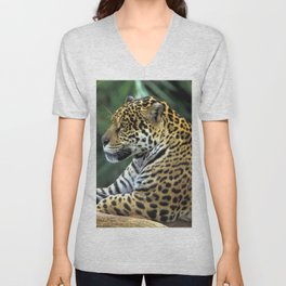 Gracious Marvelous Grown Fearsome Relaxing In Territory Zoom UHD Unisex V-Neck