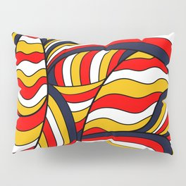 African Style No17, Desert Waves Pillow Sham