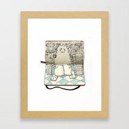 The Last Supper (Sheepman) Framed Art Print