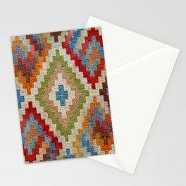 kilim rug pattern Stationery Cards