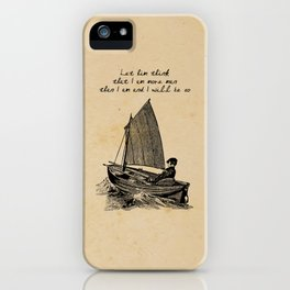 Ernest Hemingway - The Old Man and the Sea iPhone Case