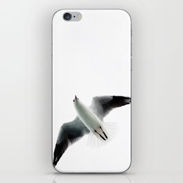 Seagull flyover iPhone Skin