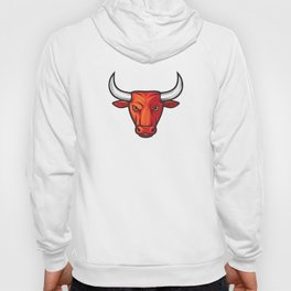 bull head design Hoody
