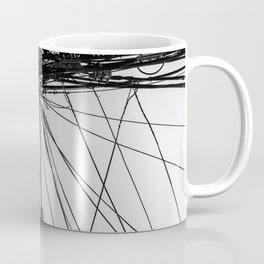 A Beautiful Tangle Black & White Coffee Mug