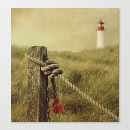 To the Lighthouse (textured) Canvas Print