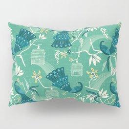 Aviary - Green Pillow Sham