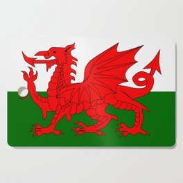 Welsh Dragon Flag Cutting Board