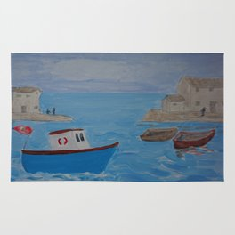 Boat Coming Home Rug