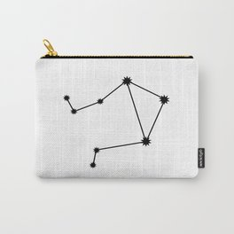 Libra Astrological Star Sign Minimal Carry-All Pouch
